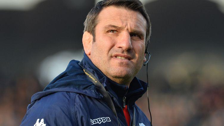 L'entraîneur Fabrice Landreau (NICOLAS TUCAT / AFP)