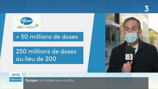 Covid-19 : les livraisons du vaccin Pfizer vont s'accélérer