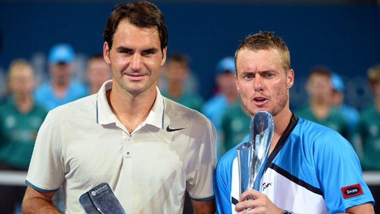 Hewitt sacré à Brisbane devant Federer (WILLIAM WEST / AFP)