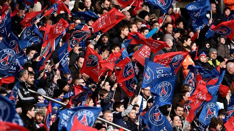 Les supporteurs du PSG (FRANCK FIFE / AFP)