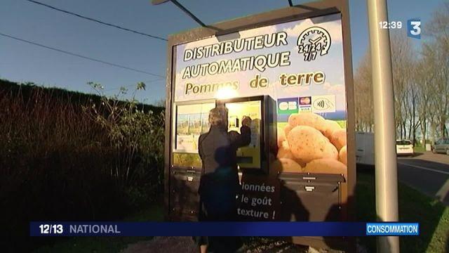 Seine-Maritime : un distributeur de patates