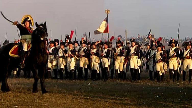 Reconstitution de la Bataille d'Austerlitz / 2015  (France 3 / capture d'écran)