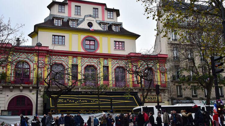 (Les attentats du 13 novembre ont fait 90 morts au Bataclan, une salle de concert du 11e arrondissement de Paris ©)