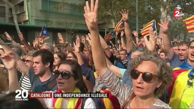 Espagne : la Catalogne déclare son indépendance, l'Etat lui retire son autonomie