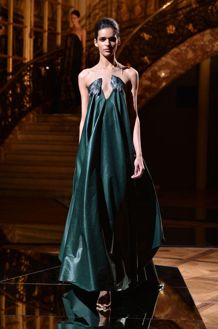 Vionnet automne-hiver 2013-2014, demi couture, défilé à Paris  (DR)