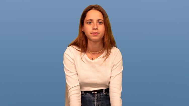 Agathe, 22 ans, co-créatrice de @BalanceTonStage (C.C.)