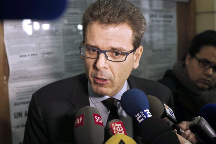 Thibault de Montbrial, le 11 décembre 2013 à Paris. (THOMAS SAMSON / AFP)