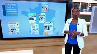 Quels sont les grands titres de la presse quotidienne régionale vendredi 28 août ? (FRANCE 2)