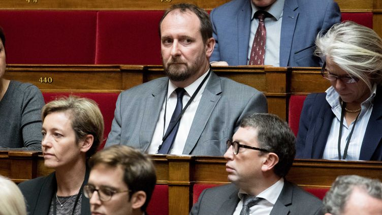 Le député Christophe Arend à l'Assemblée nationale le 25 octobre 2017. (MAXPPP)