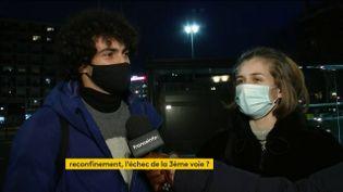 Covid-19 : les habitants de Seine-Saint-Denis réagissent à l'annonce d'un reconfinement (FRANCEINFO)