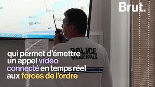 À Nice, une application permet aux citoyens de dénoncer un délit depuis son smartphone (BRUT)