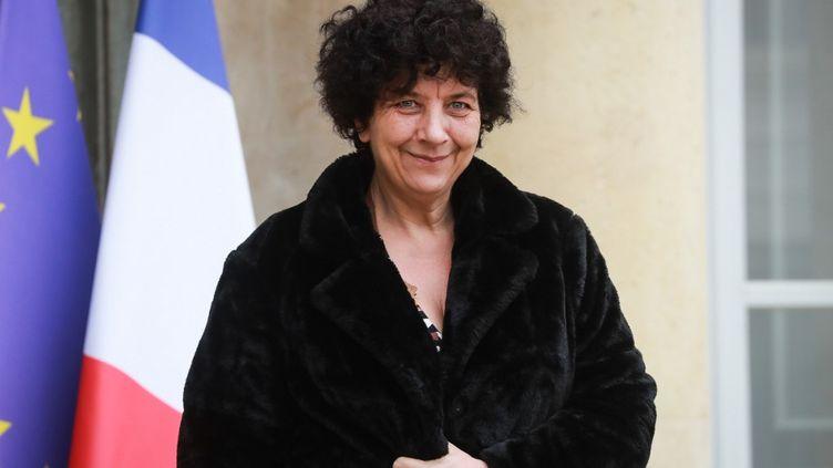 Frédérique Vidal, au palais de l'Elysée, à Paris, le 4 mars 2020. (LUDOVIC MARIN / AFP)