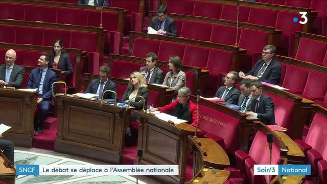 Réforme de la SNCF: débat tendu à l'Assemblée nationale