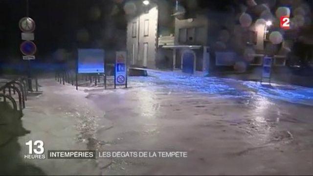 Intempéries : les dégâts de la tempête Egon