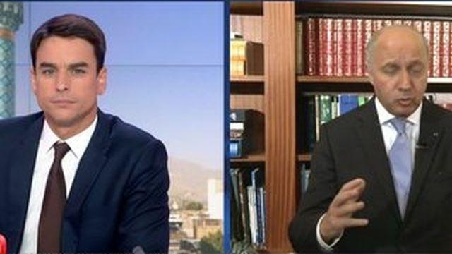 """Visite en Iran : """"On ne perd jamais quand on se fait respecter"""", assure Fabius"""