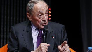 Michel Rocard, le 5 novembre 2014, à Paris. (THOMAS SAMSON / AFP)