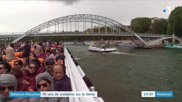 Bateaux-mouches : soixante-dix ans de croisières sur la Seine