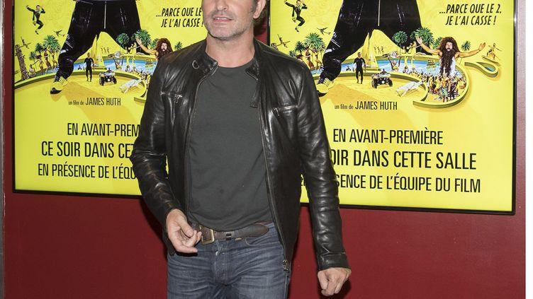 L'acteur français Jean Dujardin sur l'avant première du film Brice 3 au Cinéma Pathé Lingostière à Nice le 16 septembre. (SYSPEO/SIPA)