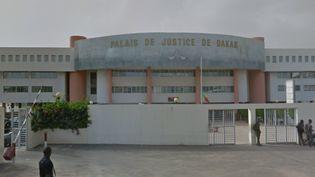 Le tribunal de Dakar (Sénégal). (GOOGLE STREET VIEW)