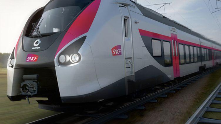 Les nouvelles rames seront fabriquées par le Français Alstom. (ALSTOM TRANSPORT / DESIGN & STYLING)