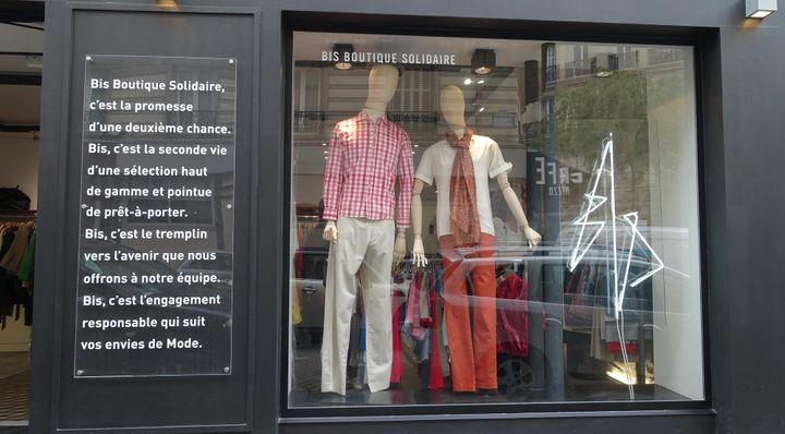 Bis Boutique Solidaire. 19, rue Lamartine (75009)  (Corinne Jeammet)