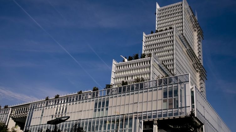 Le futur palais de justice de Paris, dans le quartier des Batignolles. (/NCY / MAXPPP)