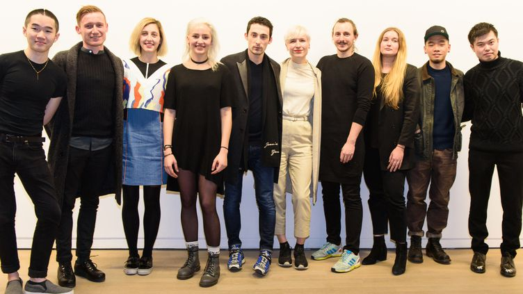 Les 10 créateurs en lice au Festival international des jeunes créateurs de mode de Dinan 2017, mars 2017  (Jean Louis Coulombel)