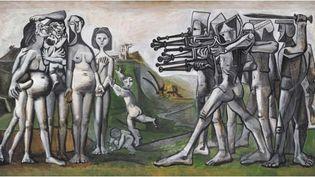 Pablo Picasso (1881-1973), Massacre en Corée, Vallauris, 18 janvier 1951, Paris, Musée national Picasso-Paris, dation Pablo Picasso, 1979 (©RMN-Grand Palais (Musée national Picasso-Paris) /Mathieu Rabeau /Succession Picasso 2019)