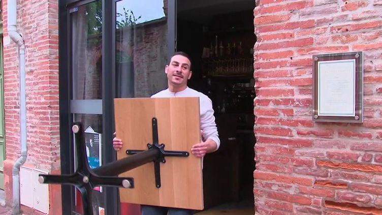 Toulouse : pour les commerces, ultimes préparations avant la réouverture (France 3)