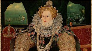 """Le """"Portrait de l'armada"""" a été peint en 1590 par un artiste inconnu  (AP/SIPA)"""