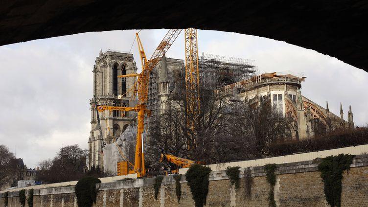 Cathédrale Notre-Dame le 22 décembre 2019 (THIBAULT CAMUS/AP/SIPA / SIPA)