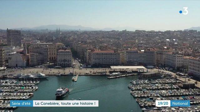 Marseille : la Canebière, un lieu historique de la ville