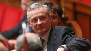 Bruno Lemaire, ici à l'Assemblée Nationale (Paris) le 17 décembre 2014, s'est félicité de la large victoire de la droite aux départementales, le 29 mars 2015. (  MAXPPP)