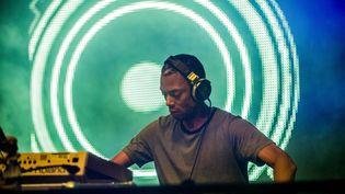 Le DJ Jeff Mills au festival belge Tomorrowland, le 26 juillet 2014. (JONAS ROOSENS / BELGA MAG)