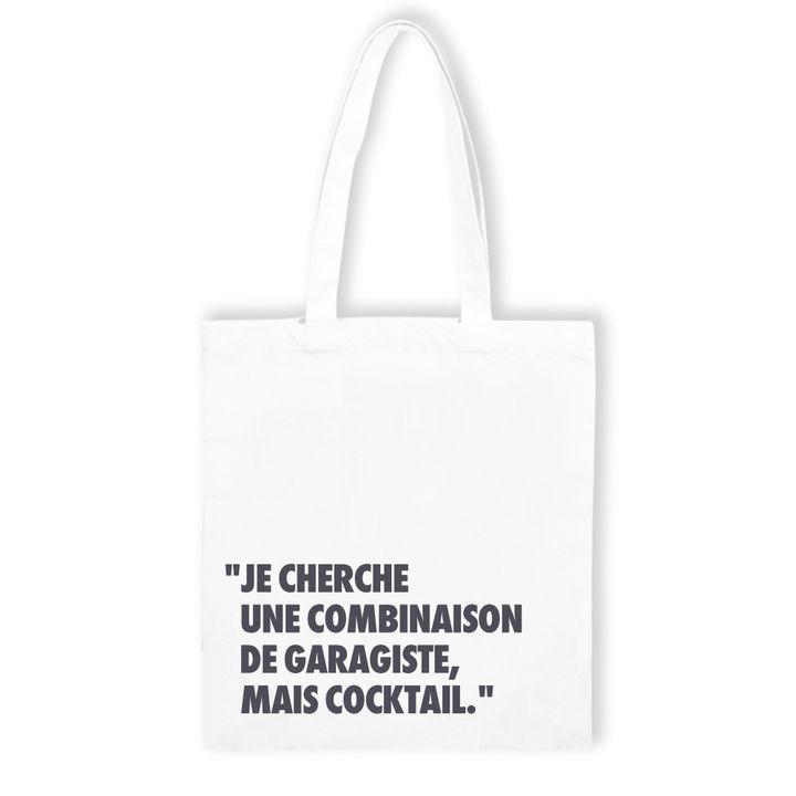 """TOTE BAG pour l'exposition """"Entendu au Bon Marché"""" de Loic Prigent  (Bon Marché)"""