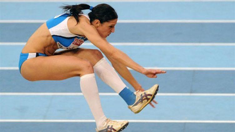 L'Italienne Simona Lamantia championne d'Europe du triple saut