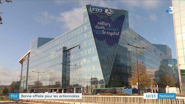 Finance : l'action Française des Jeux a presque doublé en un an