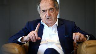 Le président de la Fédération française de football Noël Le Graët à Paris (France) le 8 mars 2021. (FRANCK FIFE / AFP)