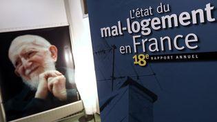 Le 18e rapport annuel de la Fondation Abbé-Pierre est présenté vendredi 1er février. (THOMAS SAMSON / AFP)