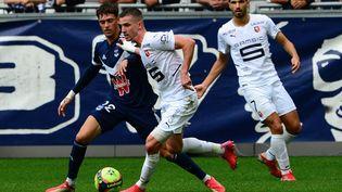 Rennes et Bordeaux se sont neutralisés dimanche 26 septembre. (MEHDI FEDOUACH / AFP)
