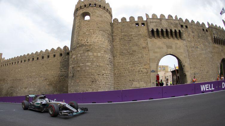Lewis Hamilton (Mercedes) (FREDERIC LE FLOC H / DPPI MEDIA)