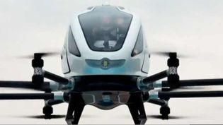 Le drone taxi d'Ehang (FRANCEINFO)