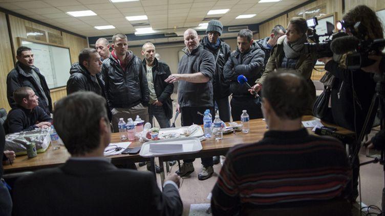 (En janvier 2014, deux cadres amiénois de Goodyear avaient été retenus pendant 30 heures © MaxPPP)