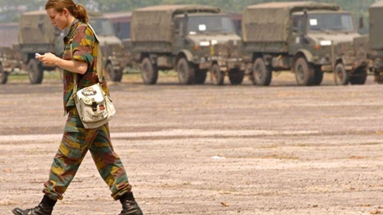 Un soldat belge au Congo en 2006 (AFP Lionel Healing)