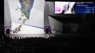 Les épreuves masculines de qualification le 3 août 2021 à Tokyo. (YOANN CAMBEFORT / MARTI MEDIA / AFP)