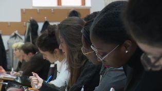Des étudiants français apprennent la médecine en Roumanie. (FRANCE 2)