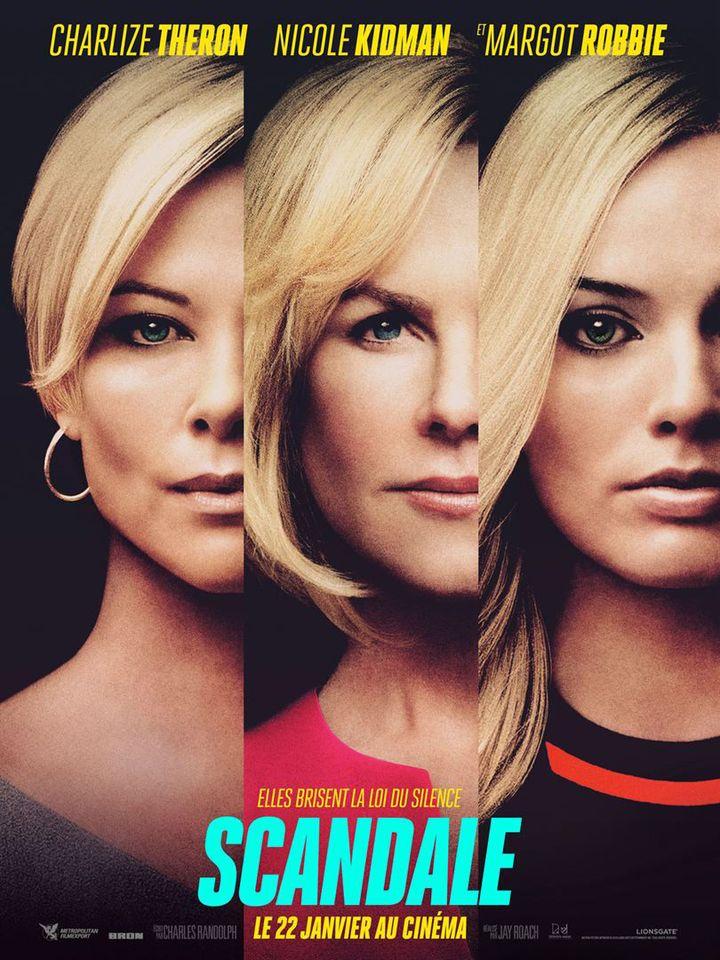 """L'affiche de """"Scandale"""" de Jay Roach. (Metropolitan FilmExport)"""