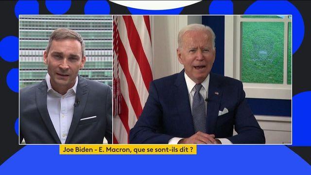 Crise des sous-marins : pour Joe Biden, l'Europe doit renforcer sa défense
