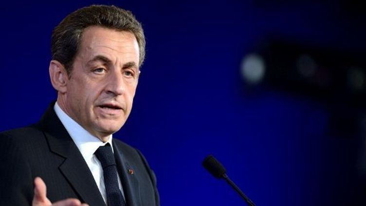 Nicolas Sarkozy. (ERIC FEFERBERG / AFP)