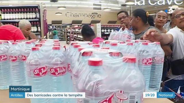 Antilles : des barricades contre la tempête